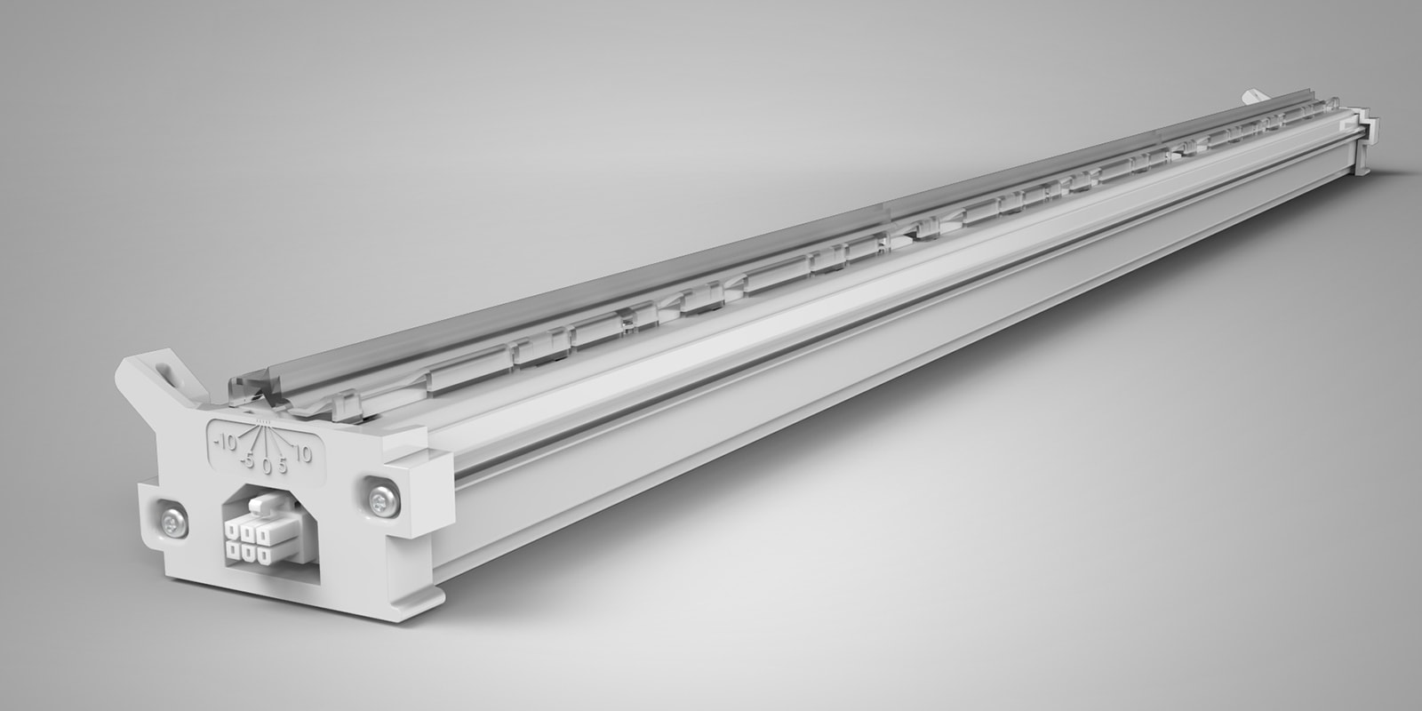 Cove lighting available in 2, 3, and 4 foot lengths allow for mounting in any cove construction