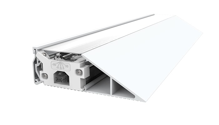 Cove lighting extrusion options